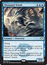 X4 Thousand Winds -NM- Duel Decks: Speed Vs. Cunning MTG Blue Rare