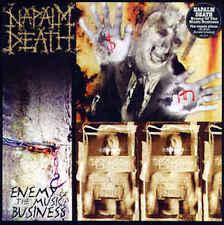 NAPALM DEATH - Enemy de The Music Business LP / scellé vinyle Re (2013)