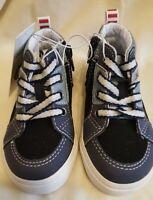 Cat & Jack Little Boys Stephan Black/Navy Shoe