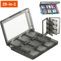 28 In 1 Game Card Case Holder Cartridge Box for Nintendo DS 3DS XL LL DSi US