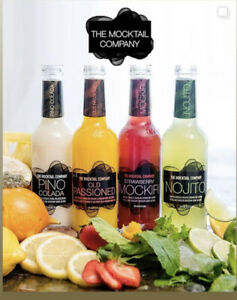 THE MOCKTAIL COMPANY NON ALCOHOLIC DRINK SOFT HALAL BOTTLE 275ml UK SELLER NEW
