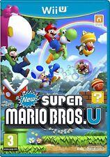 Super Mario Bros. u Nintendo Wii U-perfecto Estado-Super Duper libre de entrega rápida de clase