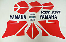 Complete Cowling Decal Graphics Set Kit Yamaha YSR 50 80 YSR50 YSR80 OEM Red