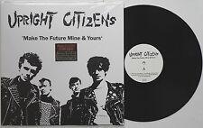 Upright Citizens - Make The Future Mine & Yours LP Bluttat H.O.A. Bottrop Punk