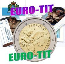 2 € SAINT MARIN COMMEMORATIVE   2020   G.   TIEPOLO   RARE     2020   disponible