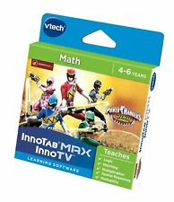 VTech InnoTab Software - Power Rangers - Maths Learing Game Softwear - New