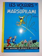 les aventures de spirou et fantasio les voleurs du marsupilami 5   TTBE 1983