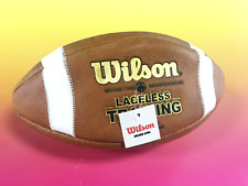 Wilson Official Laceless Training Leather Football - Wtf1240Ib New #P1885