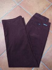 Bruhl Classic Style Brown trousers Waist 34 Leg 31 inches