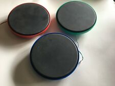 Guitar Hero Warriors of Rock Drum Set Pads - Red Green Blue Lot - FREE SHIPPING