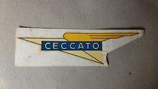 Emblema stemma adesivo d'epoca per Moto Ceccato
