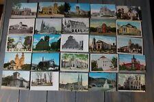 Church Postcard Lot over 50 per set. (set 5)