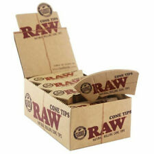 """RAW Rolling Paper """"PERFECTO"""" Roach CONE TIPS ~ Full Box"""