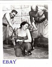Linda Darnell sexy being whipped RARE Photo Anna And The King Of Siam