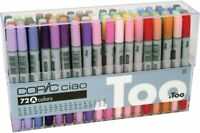 Too Copic Ciao 72 Color Set A  Manga Anime Comic Markers Alcohol marker