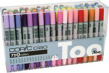 Too Copic Ciao 72 Color Set A  Manga Anime Comic Markers Alcohol marker