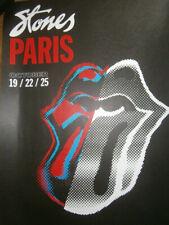 rolling stones paris u arena official poster litho print