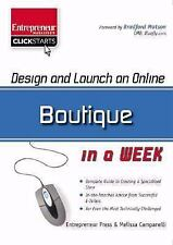Design and Launch an Online Boutique in a Week (ClickStart Series)-ExLibrary
