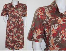 Marks and Spencer V Neck Short Sleeve Shirt Dresses
