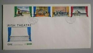 FDC Irish 1990 - Theatre (4v Stamps Cover)