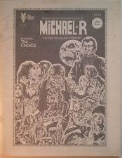 THE MIDDLE VOICE Magazine #1 [Featuring the Illustrated Fiction of Michael R.]