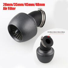 1PC 28mm/35mm/45mm/48mm Taper Motorcycle Air Filter with Clamp High Performance