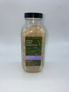 RARE Bath And Body Works Stress Relief Vanilla Verbena Bath Soak