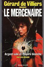 LE MERCENAIRE 34 ARGENT SALE ET POUDRE BLANCHE PLON EO 1989