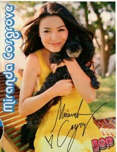 Miranda Cosgrove iCarly pinup Bop magazine David Henrie picture photo clippings