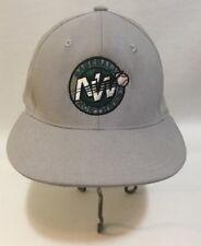 Northwest Baseball Hat Snap Back Baseball Flat Brim Pacific Headwear SM-Med Grey