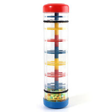 Early Learning Centre Baby Music Rainmaker instrument toy Tube shaker Y7O2