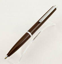 Rare & vintage Montblanc Traveller Ballpoint Pen No. 5200 in Brown (1983 - 1984)