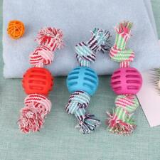 Double Knots Dogs Ball Toys Interactive Tooth Grinding Training Pet Supply