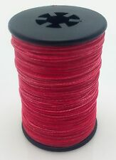 Red BCY 3D Serving Thread.017 120 Yard Jig Spool Bow String End Serving