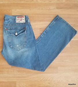 ~AUTHENTIC!~ Seat 34 Men's True Religion Ricky Jeans 40 X 34 (Tagged Size 38)