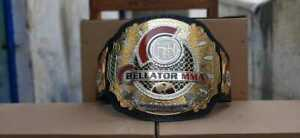 MMA Bellator Championship Belt Tournament Champion Wrestling Replica Adult Size