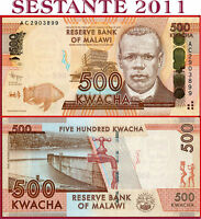 MALAWI  -  500 KWACHA 1.1. 2012  -  P  61a  -  FDS / UNC
