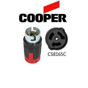 CS8165C 50A Locking Plug, 480V, 3P/4W, 3-Phase - Cooper # CS8165EX