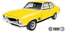Holden LJ Torana GTR XU-1 2Door - Yellow