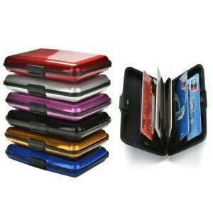 Wallet Credit Card Anti-rfid Protect Holder Blocking Hard Aluminum Metal Case