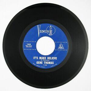GENE THOMAS It's Make Believe/So Wrong 7IN 1962 ROCKABILLY VG++