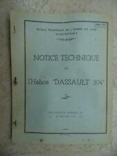 ARMEE DE L'AIR 1969 : BROCHURE MOTEUR RENAULT 12-S / AVIATION