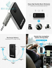 Mpow Bluetooth Receiver, Streambot Mini Car Aux Adapter / 10Hrs Hands-Free...