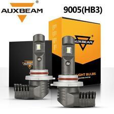 AUXBEAM 60W 7600LM 9005 HB3 LED Headlight Bulb 9145 H10 Fog 6000K Super Bright