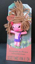 Watchover Voodoo Puppe Beste Tante von Allen-Schlüsselanhänger-Glücksbringer-neu