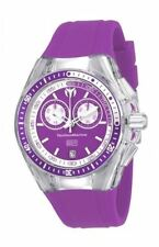 Technomarine TM-115332 Women's Cruise Sport Chronograph Purple Silicone Watch