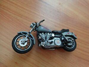 1/24 Franklin Mint Klassisch 1977 Niedrig Reiter Harley Davidson Motorrad Rad