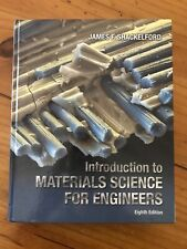 Introduction to Materials Science for Engineers by James F. Shackelford...