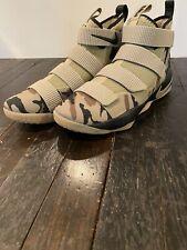 Nike Lebron Soldier XI Basketball Shoes Camo 897644-200 RARE! Mens Size 12
