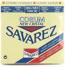 Savarez 500CRJ Crystal Corum Red/Blue Normal/Hard Classical Guitar Nylon Strings